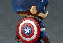 Bonecos de super-heróis !
