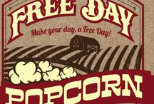 Free Day Popcorn Products