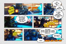 """In Game"" A #Halo #megabloks web comic / Ed Johnson Presents: The adventures of video game addicted players / by Ed Johnson Presents NERD"