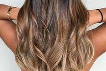 Upeat hiukset