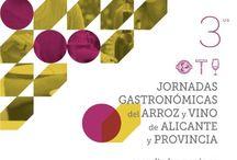 3ª EDICION JORNADAS GASTRONOMICAS #arrozyvinoalicantino