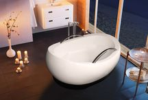 Aquatica / If you want to take your bathroom remodel to the next level, you've got to see these bath tubs from Aquatica. They instantly turn any bathroom into the sweetest getaway spot you've ever seen.