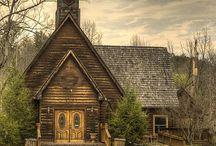 Old churches / by Loretta Krantz