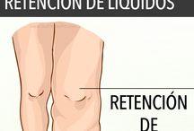 Retención líquidos