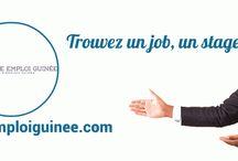 Offres d'emploi Guinée / Le spécialiste de l'emploi en Guinée, offres d'emploi, stage, Alternance, CDD,CDI trouvez le job qui vous correspond sur Pôle emploi Guinée.