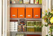 storage + organization  / by Sarah Rabalais