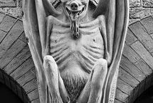 Gargoyles / They are the guardians that protect us from the evil spirits...