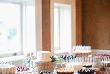 wedding dessert table ideas / by Elle Palmer