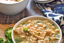 Soups, Stews, Chili and Chowder / Hot + One Pot + Delicious = A great dinner!