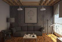 Interior Loft / Diseño de interiores desarrollado por baustudio en la ciudad de Culiacán, Sinaloa, MX.
