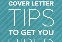 CV and cover letter tips