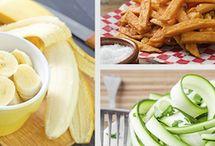 Healthy cafe menu