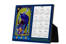 Cat Art Calendars 2018 / Calndars for 2018 of colorful cat paintings for cat lovers from the Cats of Karavella Collection of Dora Hathazi Mendes.