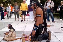 Indien natif Alexandro Querevalù / Musicien, chanteur musiques andines