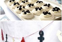 Nautical ★ Sweet Tables + party ideas + decoration / Nautical party ideas