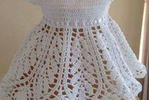 Virkad klänning