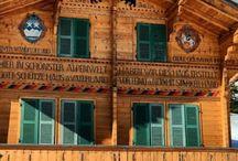 Swiss Chalet, Häuser und Bauernhäuser / Schweizer Häuser und Museum Ballenberg