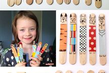 popsicle stick doll