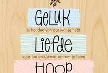 geluk liefde hoop