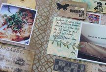 Journal / Inspirasjon til Scrap journal