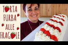 torta furba alle fragole e a tutti i frutti