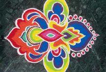 rangoli style