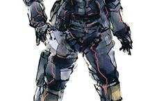 The art of Metal Gear Solid: Yoji Shinkawa