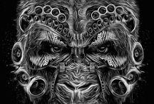 Arqueotipo Simio/Gorila / Nada del otro mundo, me encantan los Gorilas xD