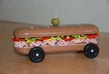 Food-inspired Pinewood Derby cars / by Boys' Life magazine