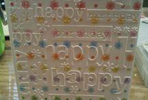 cards, birthday / by Fran Walz