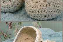 crochet slippers