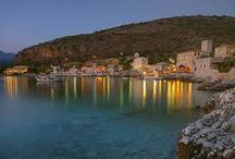 MANI,SOUTH PELOPONNESE,GREECE / A PICTURESQUE AREA IN SOUTH PELOPONNESE,WITH RICH HISTORY FROM THE ANCIENT TIMES TILL THE REVOLUTION AGAINST THE OTTOMANS IN THE 19TH CENTURY.