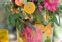 Brenner/Reeves Wedding / Rustic Chic with Vibrate pinks and oranges