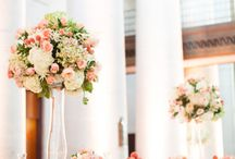 Elegant Blush Wedding Inspiration / elegant blush wedding inspiration