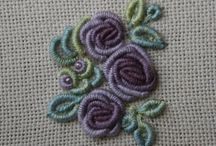Flowers- embroidery