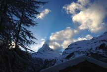 Zermatt and Matterhorn / Zermatt, Switzerland is a small mountain village at the foot of the famous Matterhorn. It offers many possibilities for exciting vacations as well as excursions into the rest of the Swiss Valais.