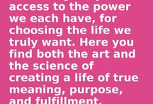 Creating Your Best Life  / This groundbreaking book is the first to explain how the new science of Positive Psychology intersects with goal-setting research to help people set and achieve life list goals. Learn how to develop your own sense of self-efficacy, create powerful mastery experiences, and use your environment to work for you and not against you.  http://www.creatingyourbestlifelist.com/book.html