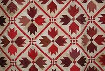 Quilts Patte D'ours-Bear Paw Quilt / Les Quilts et Patchwork avec le motif Patte d'Ours