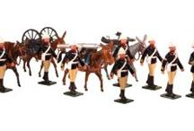 Toy Soldiers 54mm Painted in Gloss British Army 1879-1900 / TThroughout their history, the reputation of Indian Mountain Batteries was enhanced by the fact that they were officered by the very best the Royal Artillery had to offer. See: http://traditionoflondonshop.com/Toy_Soldiers_54mm/British_Army_1879-1900 / by Tradition of London