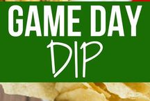 Game day dips baby!