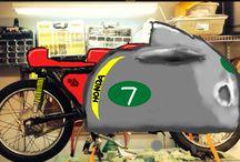 Zoom with Zeke / Cb175 transformed into a racer / by Patrick DeZeeuw