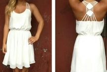 Little white dress <3