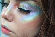 Make-up: Rainbow Highlighter