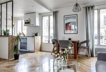 Appartement 38 mètres carrés avec Cuisine Ouverte