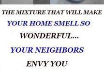 house smells good