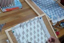 плетение из ткани