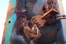 Street Art / art is for everyone, not just those who visit the gallery / by Geoff Hill