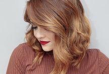 new haircut & colour