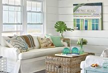 """My Coastal Cottage / Ideas for redecorating my cottage with a more """"coastal"""" feel / by Vicki Shininger"""