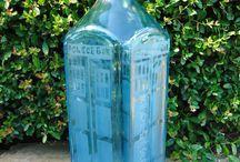 Liquor Bottle Glassware / Glassware made from recycled liquor bottles
